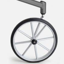 Stora hjul rullator